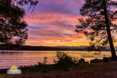 Seeley Lake Sunset